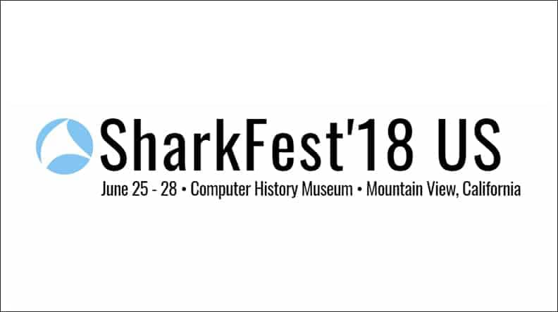 Sharkfest '18 Talk is Live